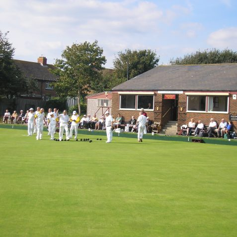 Hangleton Lawn Bowling Club | Photo by Peter Groves
