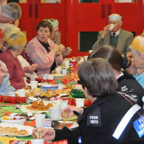 Party time for Hangleton Older Persons group | Photo by Tony Mould