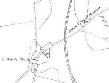 Ancient Village of Hangleton c. 1930 | Ordnance Survey