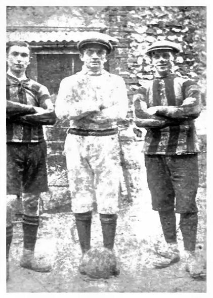Mystery footballers | From the personal collection of George Bishop