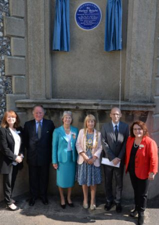 Blue plaque unveiling | ©Tony Mould:images copyright protected