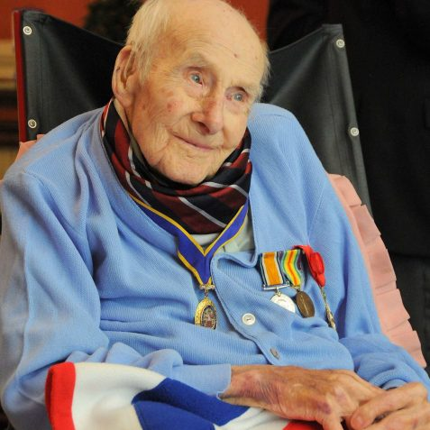Henry Allingham born 1896; the oldest surviving veteran of The Great War | Photo by Tony Mould