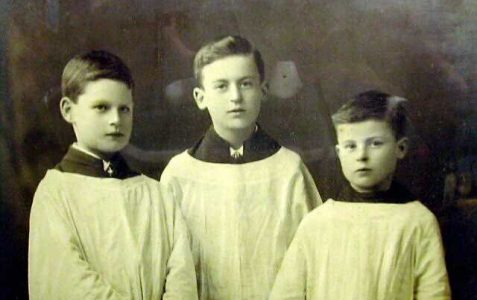 Choir Boys, early 1900s