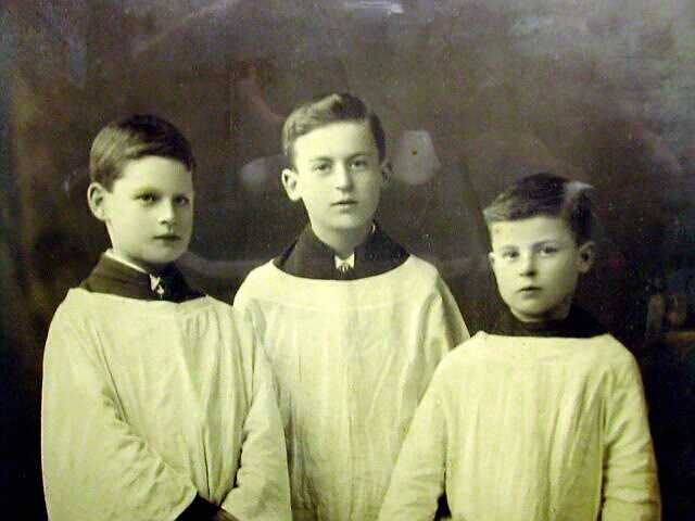 The Blaker Boys, St Peter's Church, Brighton. Early 1900s. | From the private collection of Josie Campbell