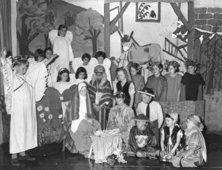 Nativity Play 1954 | Hetford Infants School collection