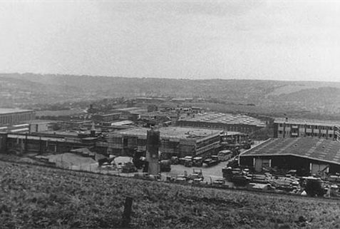 1966. General view over Hollingbury Ind. Estate | From the private collection of Martin Nimmo