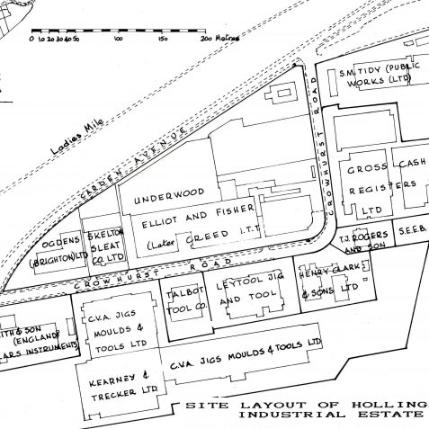 Leaseholders Hollingbury Ind Estate | Copied from Sussex Ind. History Issue No 21, with kind permission