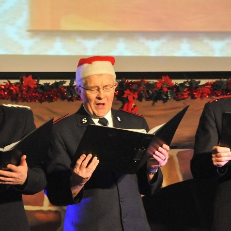 Salvation Army Christmas Carols | Photo by Tony Mould