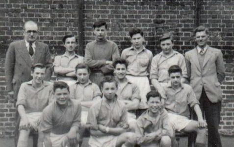 Hove Manor Football Team 1953