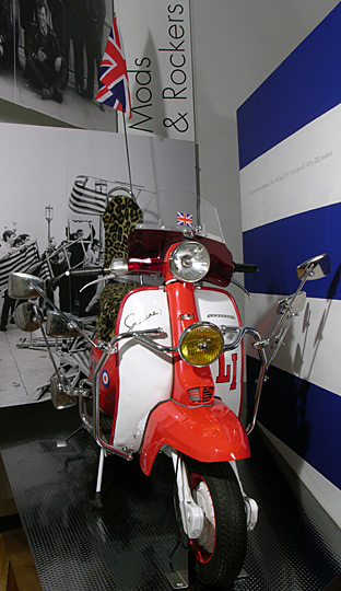 1960s scooter | Royal Pavilion and Museums Brighton and Hove