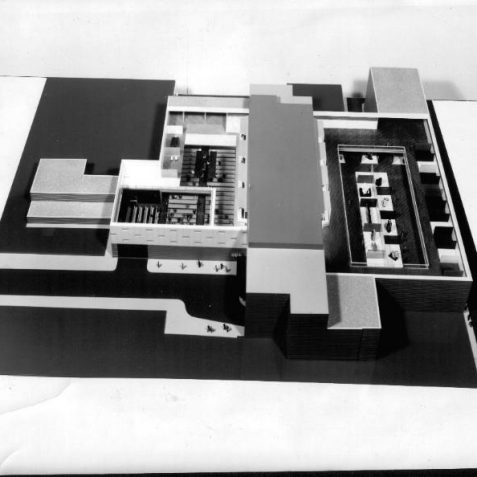Model for Metropole halls, North to South   Photo submitted by Liam Mandville