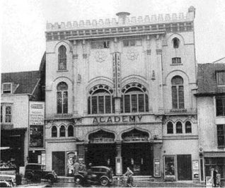 Academy cinema, site of Brighton Hammam   Image reproduced with permission from Brighton History Centre