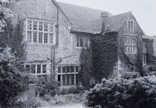 Hangleton Manor in 1965 before the vandals moved in | Image reproduced with kind permission of The Regency Society and The James Gray Collection