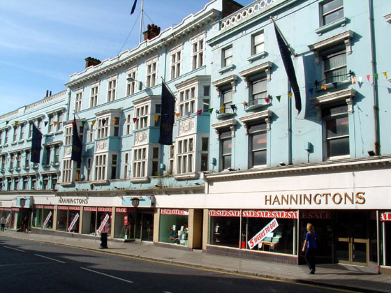 Hanningtons Department Store, Brighton | Image reproduced with kind permission of www.images.brighton
