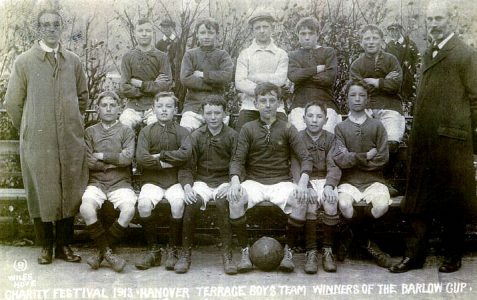 Photo of the 1913 football team