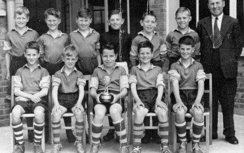 Soccer Team c1954
