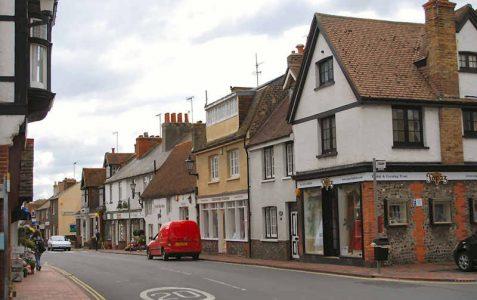 The parish of Rottingdean