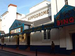Outside the Hippodrome now Mecca Bingo | From a private collection
