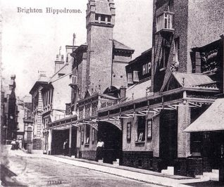 Old Hippodrome (date unknown) | Image reproduced with permission from Brighton History Centre