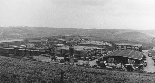 A photograph of the Factory Estate, Hollingbury c.1960 | From the private collection of Martin Nimmo