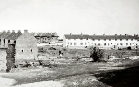 A brand new estate in the 1950s