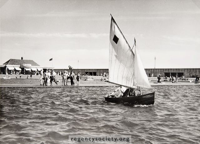 Hove Lagoon | Image reproduced with kind permission of The Regency Society and The James Gray Collection