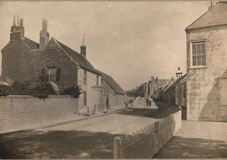 A photograph of Hove Street (from Hove Cottage, looking north in September 1914) | Image reproduced with permission from Brighton History Centre