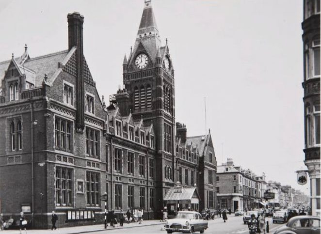 Hove Town Hall photograhed just before the fire in 1966 | Image reproduced with kind permission of The Regency Society and The James Gray Collection