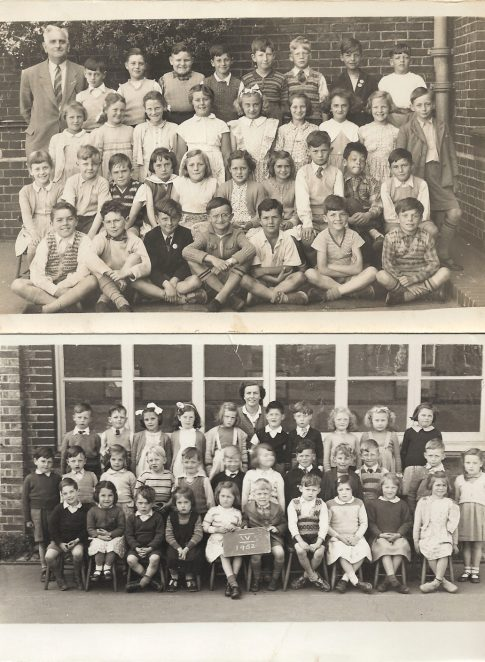 Coombe Road Primary School: undated class photo | From the private collection of Vernon Stunt