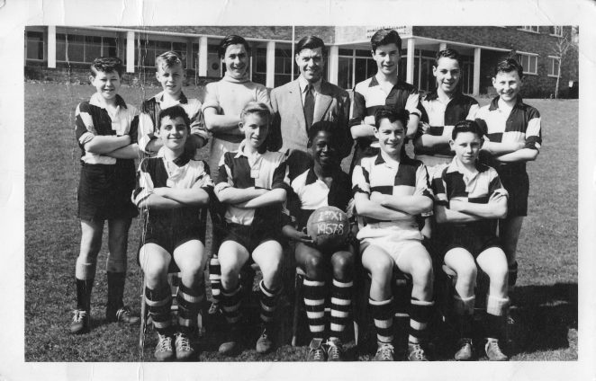 1st XI team photo 1957-58 | From the personal collection of Tony Caig