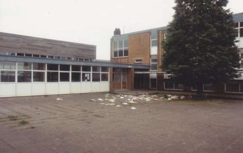 Photographed prior to demolition