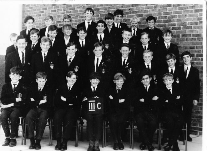 Mr. Wallington's class, 3C , taken in November 1967 | From the private collection of Richard  Szypulski