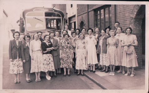 Laundry Workers' Outing 1950s