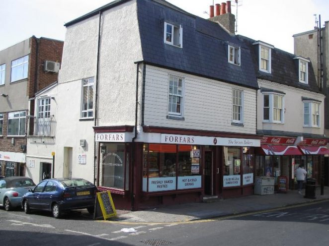 This is what 78, St. James' Street looks like today (23/03/05). Compare it with your photo of the shop taken early last century. | Photo by Phil Jeffrey
