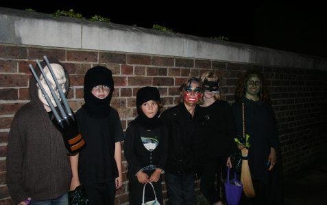 Cissbury Road: Hallowe'en 2009