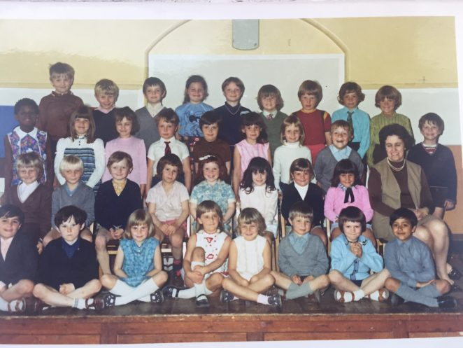 Early 1970s class photograph | From the private collection of Martin Scarborough