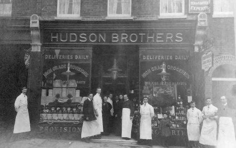 Hudson Brothers shop