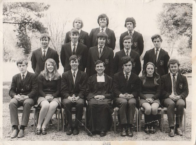 Prefects: Upper sixth 1969/1970 | From the private collection of Richard Molyneux