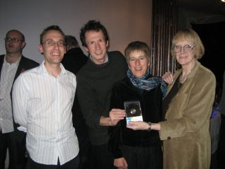 Ian Grant, Jack Latimer, Ninka Willcock and Jennifer Drury, members of the MyBH volunteer team | From the private collection of Ian Grant