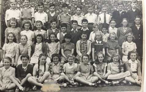 Class photograph July 1949