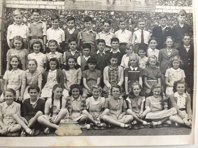 Class photo c1949 | From the private collection of Alan Scales