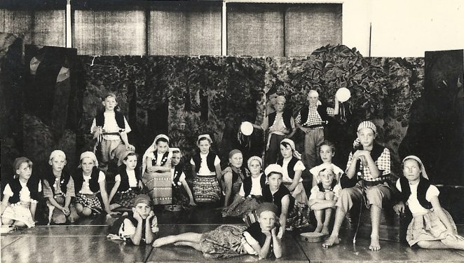 Imogen School Play | From the personal collection of Adrian Curd