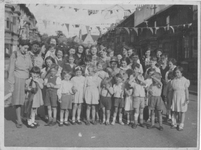 Stanley Road VE day party | From the personal collection of Roger Russell