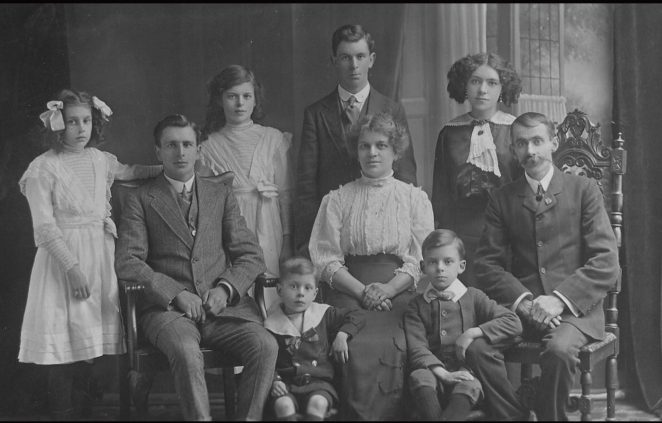 The Lowe family c1912 | From the private collection of Jean Lowe