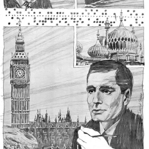 Modern Communication c. 1967 | Originally published by the Brighton & Hove Gazette 3/2/1967, copy owned by Peter Groves