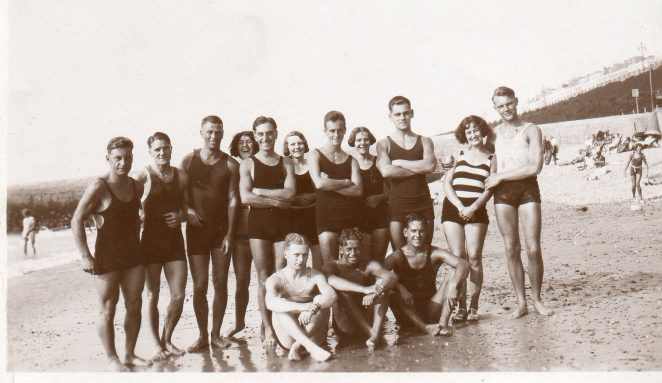 1930s bathers at Brighton - reversed | From the private collection of Christopher Wrapson