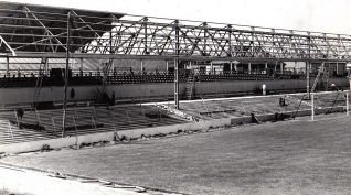 Image 1: New South Stand c.1954 | From the private collection of Peter Groves