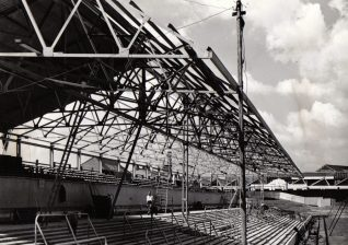 Image 2: New South Stand c.1954 | From the private collection of Peter Groves