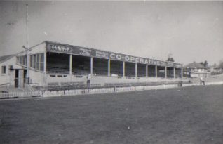 Image 5: Old West Stand c.1954 | From the private collection of Peter Groves