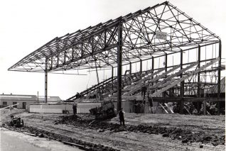 Image 7: New West Stand c.1958 | From the private collection of Peter Groves